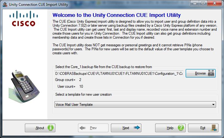 CUE Import Utility